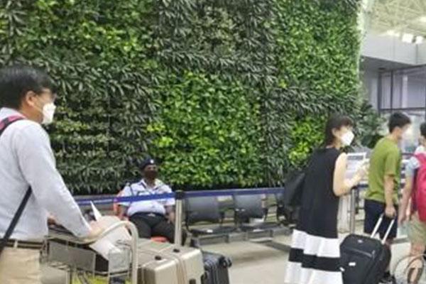 Group of S. Koreans Return Home from Virus-Stricken India