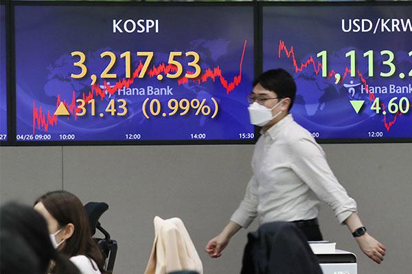 Mejora la rentabilidad de las acciones del KOSPI