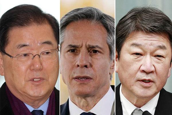 Ngoại trưởng ba nước Hàn-Mỹ-Nhật nhất trí tăng cường hợp tác phi hạt nhân hóa bán đảo Hàn Quốc