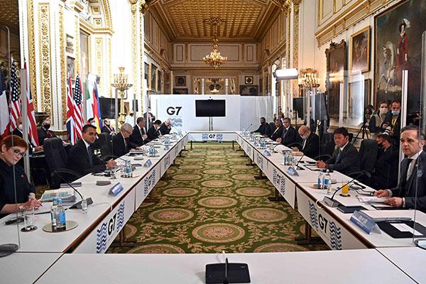 "G7外长会声明改用""北韩完全、可验证、不可逆转地放弃核武""说法"