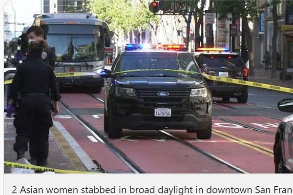 2 Elderly Asian Women Stabbed at Bus Stop in San Francisco