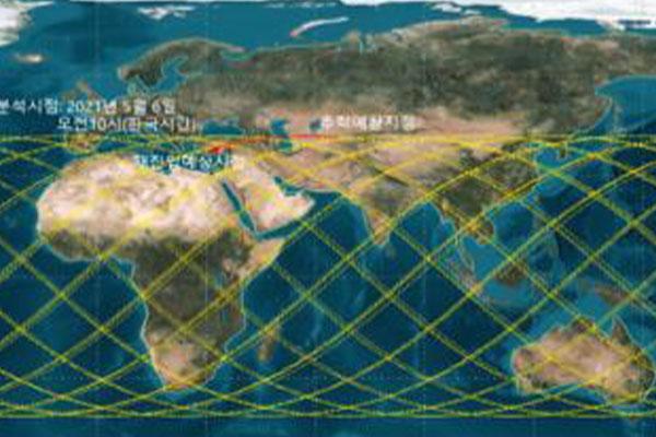 韩美就中国火箭残骸坠落保持合作 韩半岛不在预测坠落地点内
