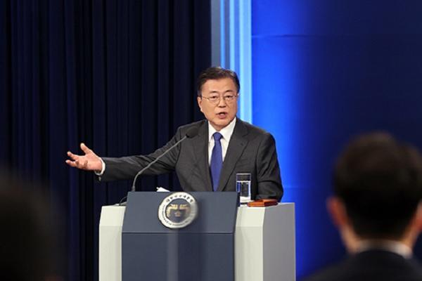 Tổng thống Moon Jae-in diễn thuyết đặc biệt nhân kỷ niệm 4 năm nhậm chức