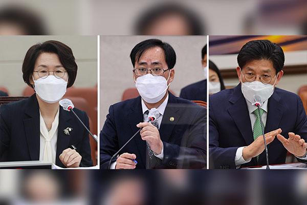 Le Minjoo et le PPP cherchent un terrain d'entente sur la confirmation de trois ministres