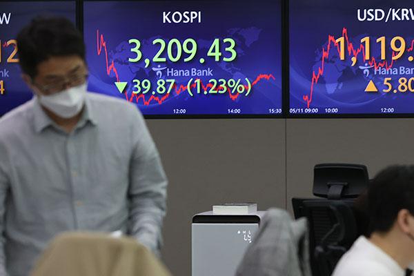 Kospi verliert mehr als ein Prozent
