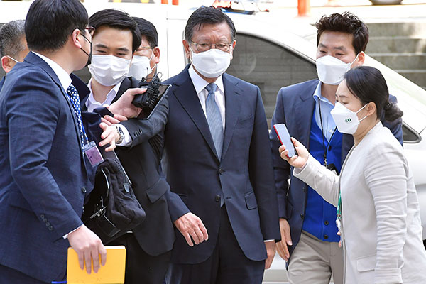Warrant Hearing Begins for Ex-Kumho Asiana Chief in Affiliate Aid Probe