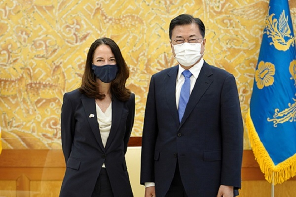 """Tổng thống Moon Jae-in: """"Hàn Quốc và Mỹ chia sẻ các giá trị phổ quát gồm cả nhân quyền"""""""