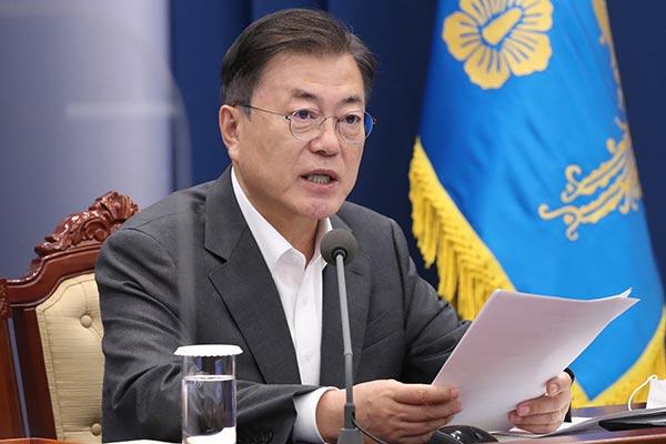Presiden Moon: Kunjungan ke AS akan Digunakan untuk Perkuat Kerja Sama Terkait Vaksin