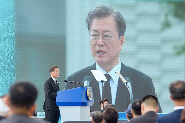 Presiden Moon: Myanmar di Hari Ini adalah Gwangju di Masa Lalu
