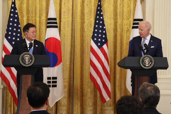 Lãnh đạo Hàn-Mỹ nhất trí tiếp cận vấn đề Bắc Triều Tiên thông qua đối thoại