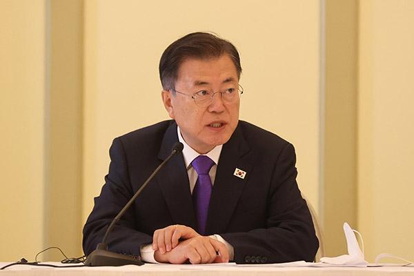 Präsident Moon fordert wegen Pandemie höheres Budget für kommendes Jahr