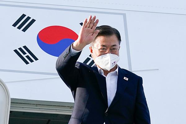 Tổng thống Moon Jae-in kết thúc chuyến công du Mỹ