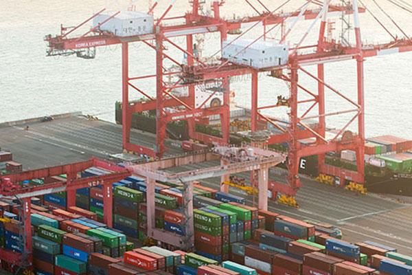 Importpreise den fünften Monat in Folge gestiegen