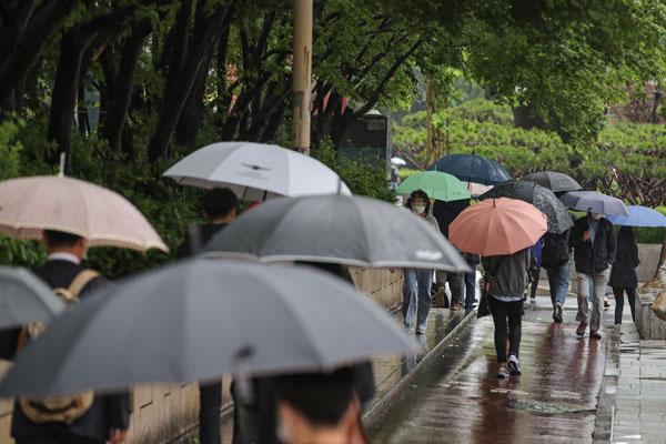 Météo : la pluie fait son retour par le sud-ouest