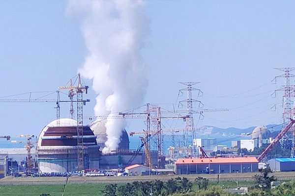 Arrêt du réacteur Shin Kori 4 suite à un incendie