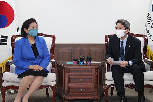 Bộ Thống nhất tái khẳng định mong muốn thúc đẩy dự án du lịch núi Geumgang