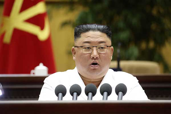 N. Korean Leader Makes First Public Appearance in Month