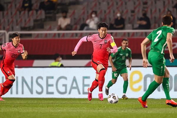 Corea vence por 5 a 0 a Turkmenistán en eliminatorias del Mundial