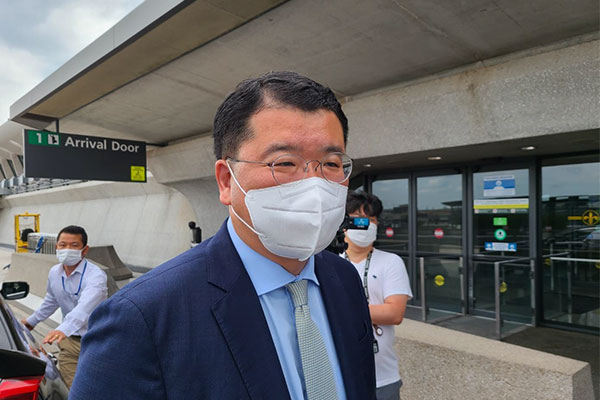 韩外交次官访美 韩美日首脑或G7峰会期间会晤