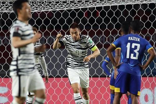Corea asegura pase a eliminatoria regional de Qatar 2022