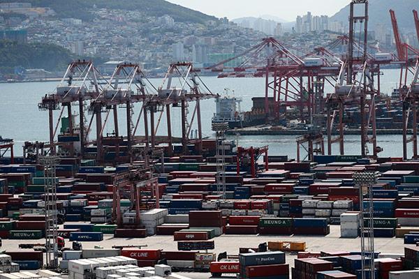 6月前十天韩出口增40.9% 日均出口增32.6%
