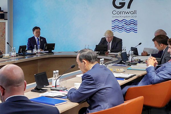 Большая семёрка призывает к полной денуклеаризации Корейского полуострова