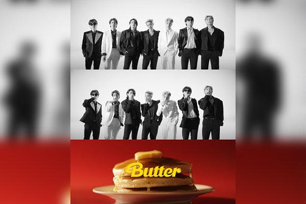 "Lagu ""Butter"" BTS Duduki Posisi Puncak di Billboard Hot 100"