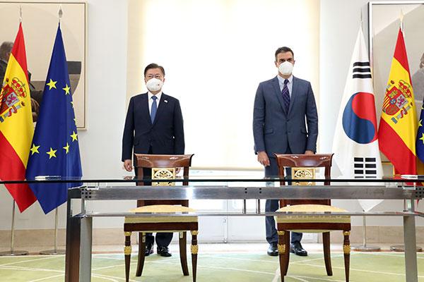 Отношения РК и Испании достигнут уровня стратегического партнёрства