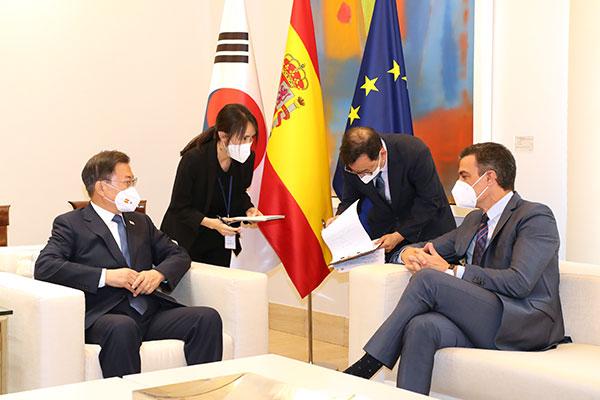 Korsel Jalin Hubungan Kemitraan Strategis dengan Spanyol
