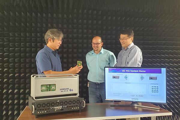 6G : Samsung Electronics effectue avec succès un test sur des ondes térahertz