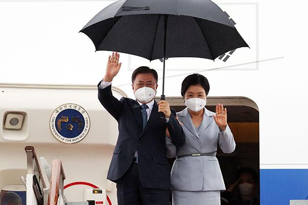 Präsident Moon von Europareise zurückgekehrt