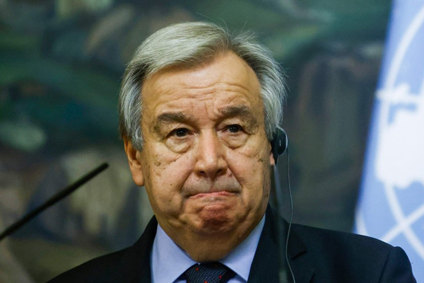 UN Chief Guterres Appointed for 2nd Term