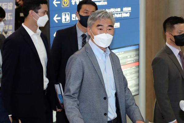 US Nuke Envoy Sung Kim Arrives in Seoul