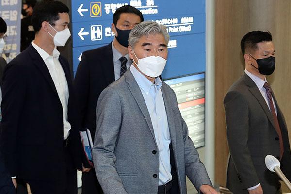 韩美日对北代表在首尔进行协商