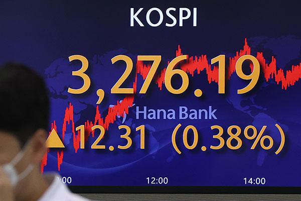 KOSPI Ditutup Naik 0,38 % pada 23 Juni