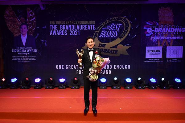 Schauspieler Ahn Sung-ki gewinnt BrandLaureate Award