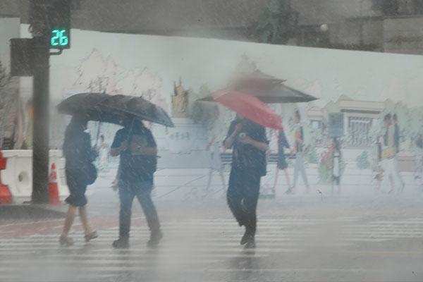 Сезон дождей в этом году начнётся в июле