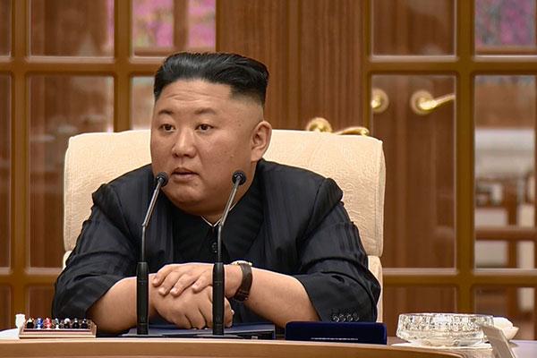 Chủ tịch Kim Jong-un phê bình cán bộ để sai sót trong công tác phòng dịch