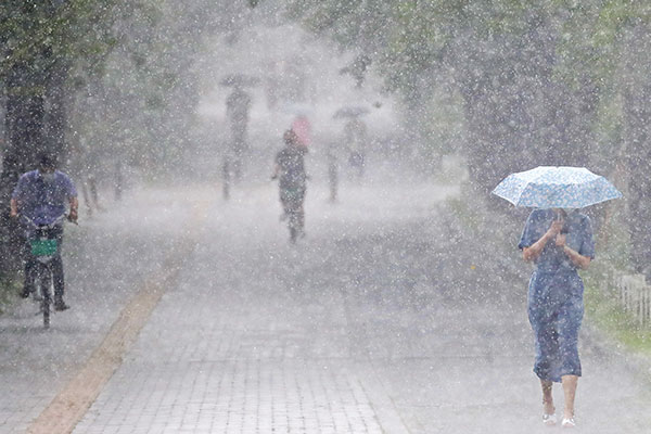 Sporadic Showers Forecast Nationwide