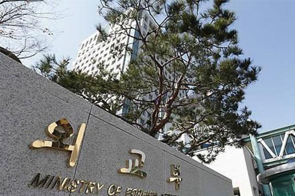 外交部「中国外相の韓米軍事演習に対する発言は異例」