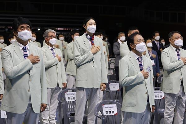 Deportistas olímpicos prometen transmitir esperanza en JJOO
