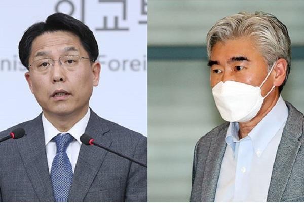 韓米北韓担当高官が電話会談 韓半島非核化向け意見交換