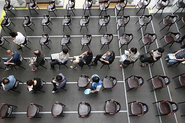 韩12日起接受55-59岁人群莫德纳疫苗接种预约