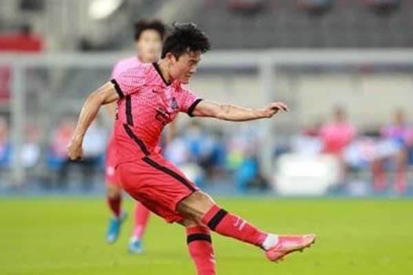 Südkoreanische Fußballauswahl betreitet Donnerstag erstes Spiel bei Olympia in Tokio
