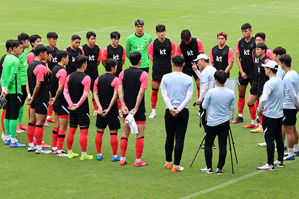 Men's Football to Open Team Korea's Olympic Campaign on Thurs.