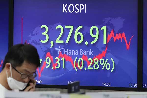 7月16日主要外汇牌价和韩国综合股价指数