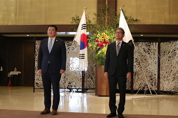 韓日外務次官が東京で会談 相馬公使の発言に抗議