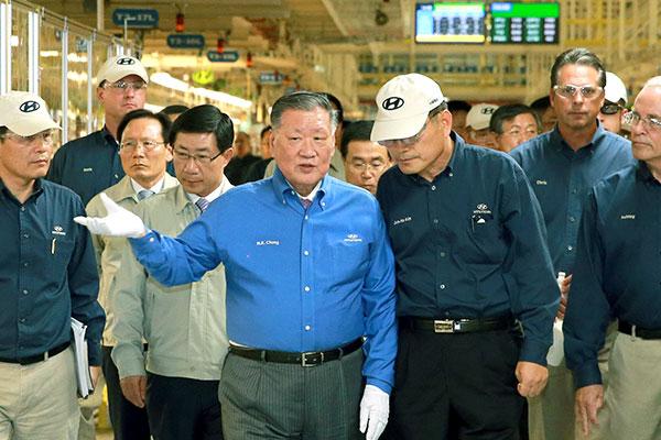 Chung Mong Koo entra al Salón de la Fama Automotriz