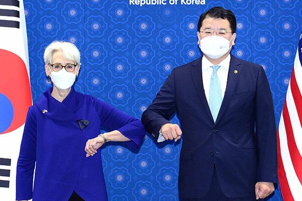 米国務副長官 「北韓問題で建設的方向に進むことを期待」