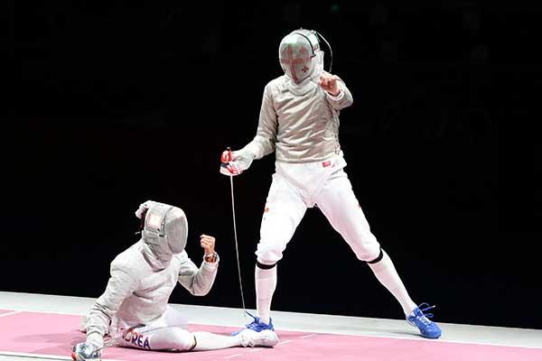 JO de Tokyo : l'escrimeur Kim Jung-hwan décroche une médaille de bronze
